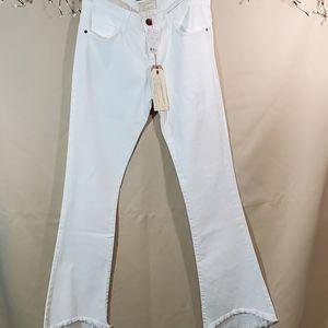 * New Current Elliott white jeans size 27
